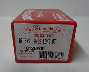 10126200 - SIMONDS SAW BITS BF  8/9  9/32 LONG (BOX OF 100)