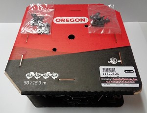 "11BC050R  - OREGON CHIPPER HARVESTER CHAIN 3/4"" PITCH .122 GAUGE 50' ROLL  *SAVE 10.00 PER ROLL WHEN YOU BUY 2-ROLLS*"