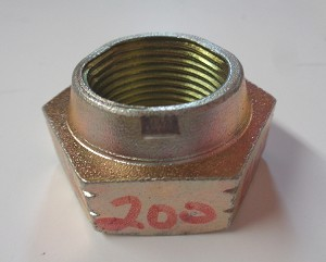 2008022 - CTR/CSI 4200/1A SAW HEAD SHAFT HEX LOCK NUT 1-14 UNF GRADE C