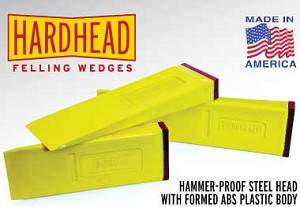 "HH1212-  12"" HARD-HEAD FELLING WEDGE SHIPPING INCLUDED (12)"