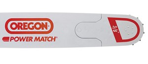 "168RNDD009 - OREGON 16""  POWER MATCH CHAINSAW BAR FOR HUSKY 3/8"" PITCH .058 GAUGE 60-DRIVERS"