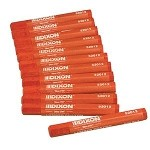 52012 -DIXON SOFT RED CRAYONS - 12 PACK