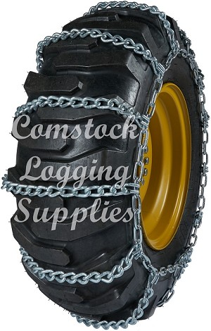 "20525LI - PART #26331 CCI LADDER TYPE LOADER/GRADER CHAINS 4 LINK SPACING 7/16"" 20.5X25/550/65R25 IMPORT *ADDITIONAL SHIPPING CHARGES ON THIS ITEM*"