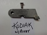 KODIAK - W/RIVET FLARE SIDE SIMONDS INTERNATIONAL SHANK  500HP