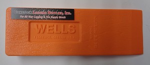 "WE1212 - WELLS ALL-WEATHER 12"" PLASTIC WEDGE NO BARBS SHIPPING INCLUDED (12)"